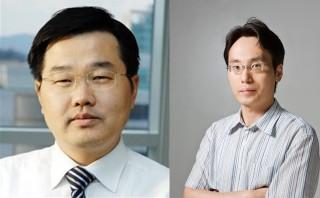 강정구 교수(왼쪽)와 김용훈 교수 - KAIST EEWS 대학원 제공